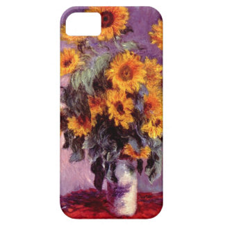 High Res Claude Monet Sunflowers iPhone 5 Case
