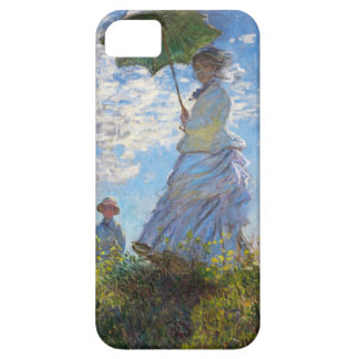 High Res Claude Monet Woman with a Parasol iPhone 5 Case