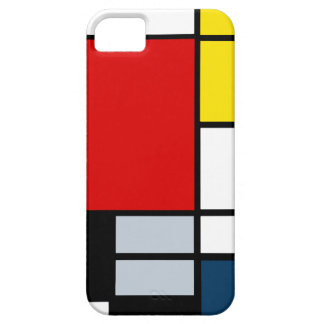 High Res Piet Mondrian Composition iPhone 5 Covers
