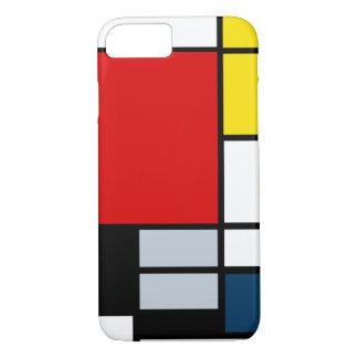 High Res Piet Mondrian Composition iPhone 8/7 Case