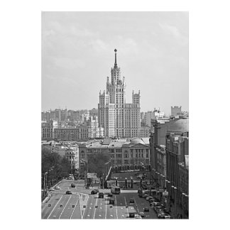 High-rise building on Kotelnicheskaya Embankment Photo Print
