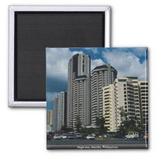 High-rise, Manila, Philippines Magnet