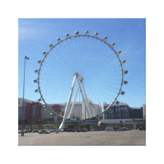 High Roller Ferris Wheel Las Vegas #2 Canvas