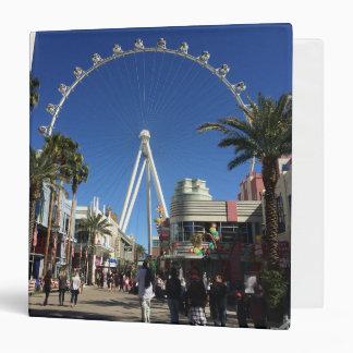 High Roller Ferris Wheel Las Vegas Binder