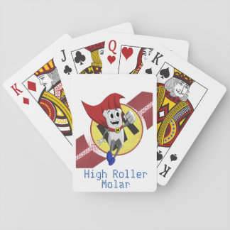 """High Roller Molar"" Mighty MolarMan® Playing Cards"