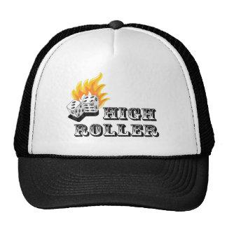 high roller trucker hat