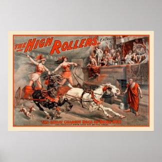High Rollers Vintage Poster