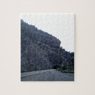 High Rolls Mountain Tunnel New Mexico Jigsaw Puzzle