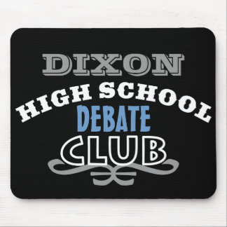 High School Club - Debate Mouse Pad