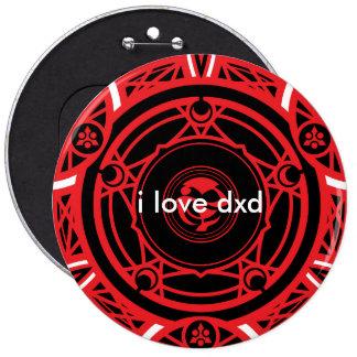 high school dxd 6 inch round button