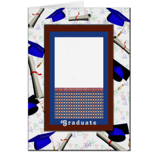 High School Graduation for Son, add Your Photo Card