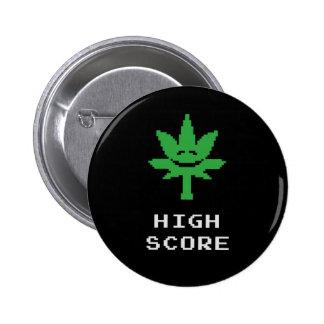 High Score 2 Inch Round Button