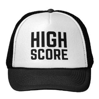 HIGH SCORE funny slogan trucker hat
