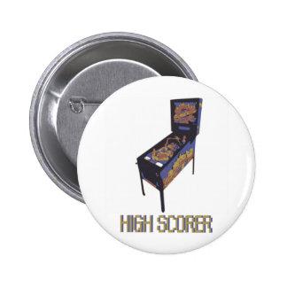 High Scorer 2 Inch Round Button
