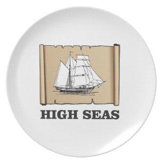 high seas marker plate