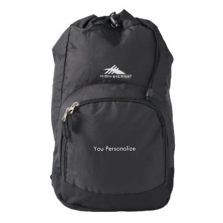 High Sierra Backpack, Black