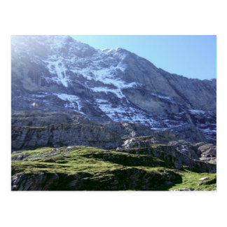High slopes in the Jungfrau region Postcard