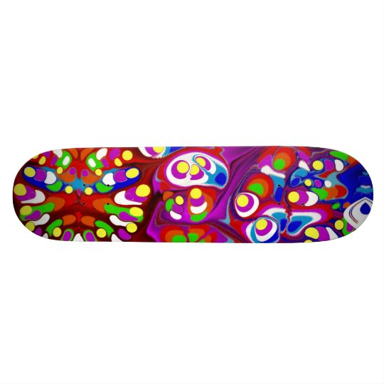 High Speed Bright Skateboard
