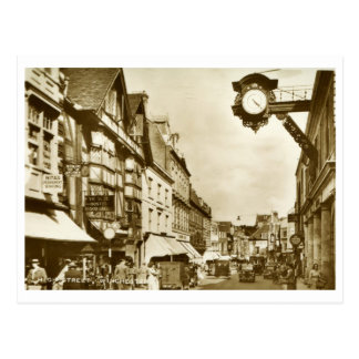 High St., Winchester, England Vintage Postcard