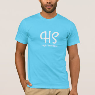 High Standard men's light blue t-shirt