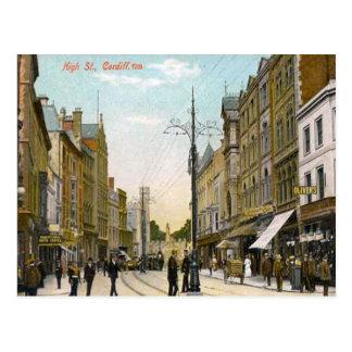 High Street, Cardiff Postcard