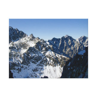 High Tatra mountains, Slovakia Canvas Print