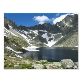 High Tatras Slovakia Photo Paper (Satin)