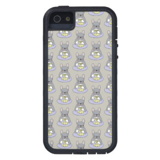 High Teas with Cute Blue Brindle Frenchie iPhone 5 Cover