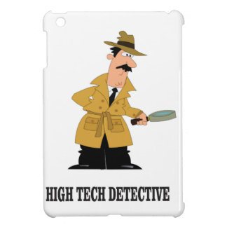 high tech detective iPad mini cases
