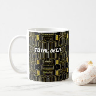 High Tech Total Geek Coffee Mug