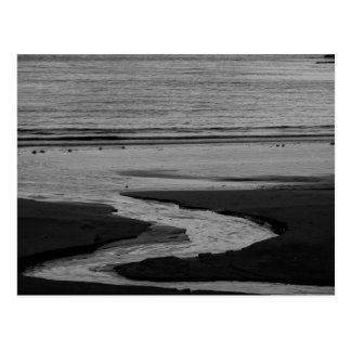 High Tide at Sunset Postcard