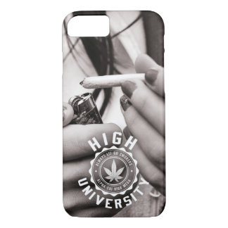 HIGH UNIVERSITY DAILY ROUTINE IPHONE CASE