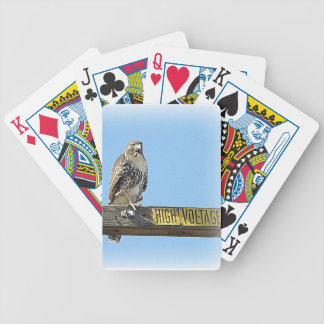 High Voltage Hawk Playing Cards