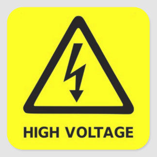 high voltage.png square sticker