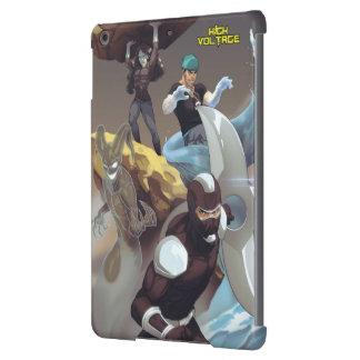 High Voltage Villains iPad Air Case