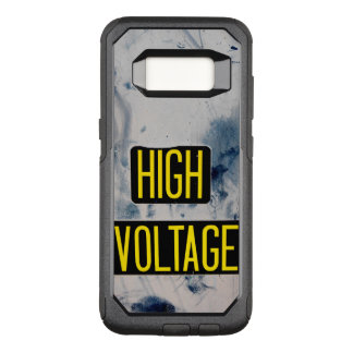 High Voltage Warning Sign OtterBox Commuter Samsung Galaxy S8 Case