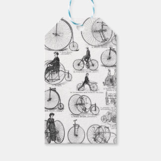High Wheeler Victorian Penny Farthing Cycle Biking Pack Of Gift Tags