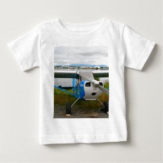 High wing aircraft, blue & white, Alaska Baby T-Shirt