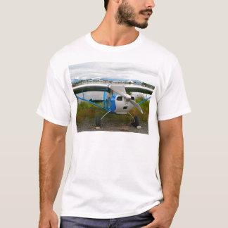 High wing aircraft, blue & white, Alaska T-Shirt