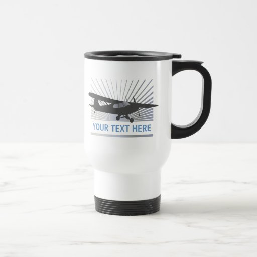High Wing Taildragger Aircraft Mugs