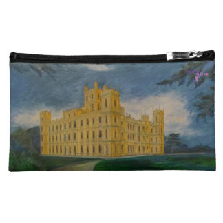 Highclere Castle aka Downton Abbey Cosmetic Bag