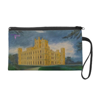 Highclere Castle aka Downton Abbey Wristlet