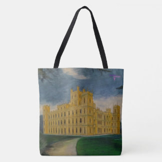 Highclere Castle - Downton Abbey Tote Bag