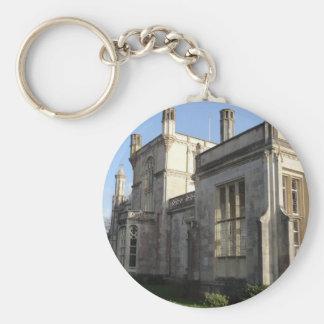 Highcliffe Castle, Dorset Basic Round Button Keychain
