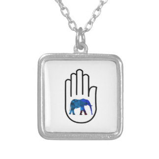 Higher Enlightenment Silver Plated Necklace