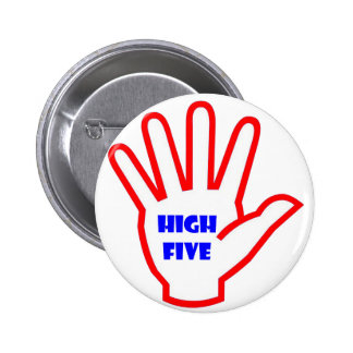 HIGHFIVE :  KIDS motivational Tool for Teachers 2 Inch Round Button