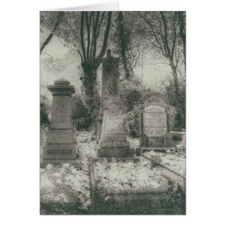Highgate Cemetery London Card