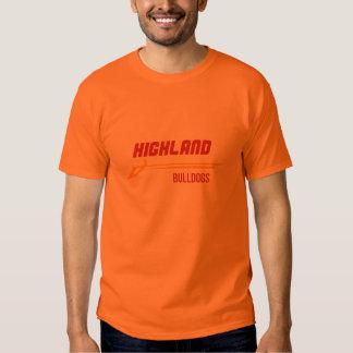 Highland Bulldogs Tee Shirts