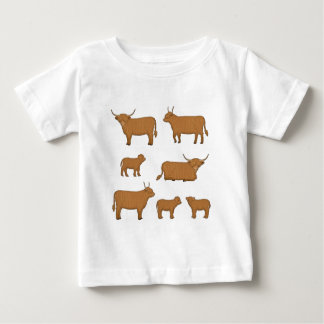 Highland Cattle Baby T-Shirt