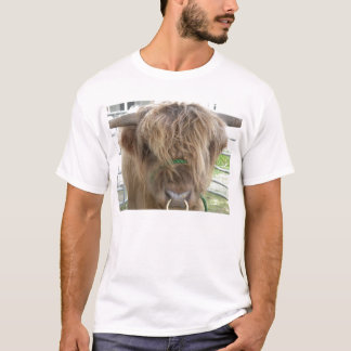 Highland cattle bull shirt